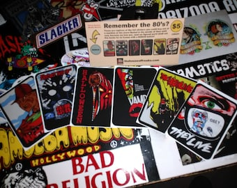 Vintage Horror sticker set