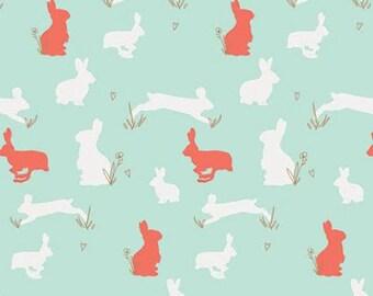 Bunny Binkies Funk Metallic from Anna Elise designed by Bari J for Art Gallery Fabrics - Premium Quilting Cotton Fabric - One Yard