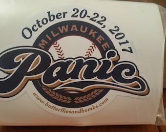 Widespread Panic Stickers- Milwaukee 2017