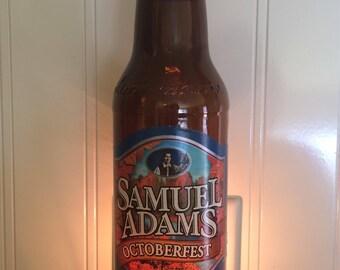Samuel Adams Octoberfest Beer Bottle Nightlight