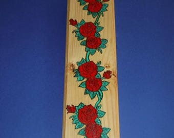 Climbing Red Rose