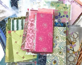 Color Paper Scrap Pack, Gorgeous Paper Pack, Assorted Papers, Decorative Papers, Craft Paper, Art Paper, Collage Paper, C