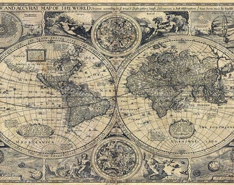 Old world map etsy gumiabroncs Images