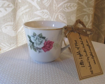 Tea Cup Candle: Cup of Relaxation