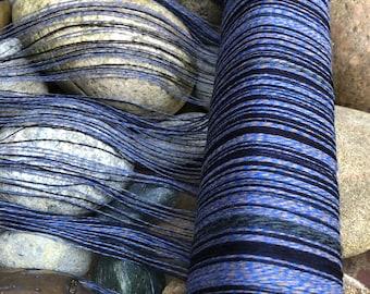 "Saori cashmere ready made warp limited edition piccolo compatible "" Inidigo Denim blue"" size:saorisantacruz"