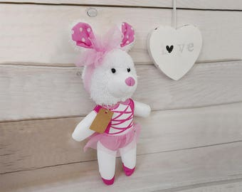 Stuffed rabbit, Stuffed toy, Plush toy, Soft Toy, Bunny, Rabbit