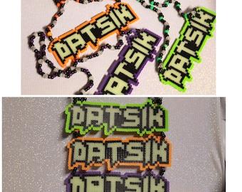 Datsik Perler Necklace