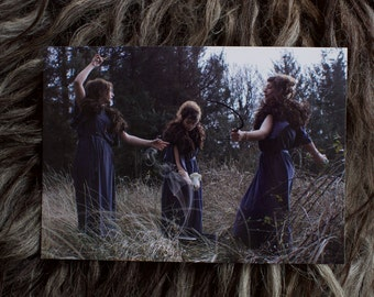 Wyrd Sisters Photography Print Postcard A5