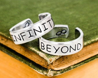 To Infinity and Beyond Rings - Valentines Day Gift