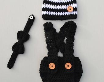 Newborn Baby Photography Prop Outfit Newborn Boy Outfit Baby Boy Outfit Baby Boy Photo Outfit Newborn Photo Outfit Crochet Baby Clothes