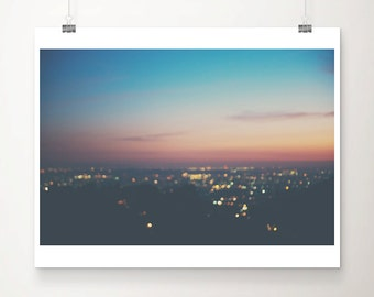 los angeles photograph california photograph sunset photograph landscape photograph travel photograph mulholland drive photograph