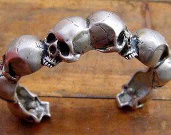 Skull Cuff Bracelet
