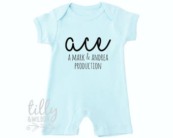 New Baby Gift, Personalised Baby Bodysuit
