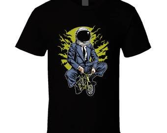 Bike To The Moon Mars Jupiter T-shirt