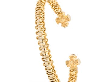 Gold Eternity, Armband, Armreifen,Armbänder,Armband Gold, Geflochten Armbänder,Gliederarmbänder
