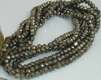 10 Strands,14 Inch,SPECIAL OFFER, PYRITE,Reduce from 150,Wholesale Price