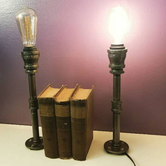 Industrial lighting industrial style candlestick pipe lamps