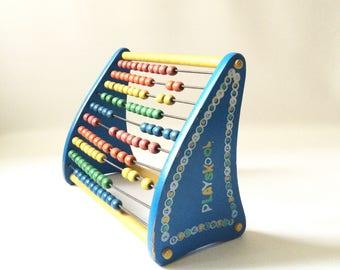 Vintage Playskool Abacus Toy