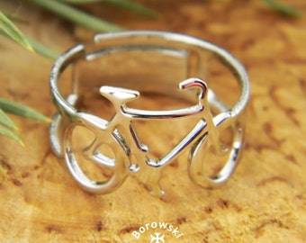 Bicycle Ring (free shipping) - stainless steel ring