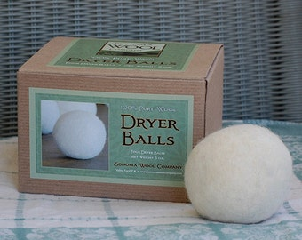 Wool Dryer Balls (Set of Four)