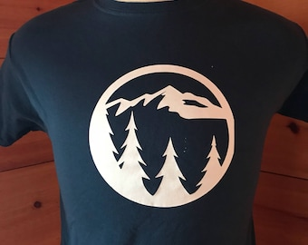 Mountain escape tee!