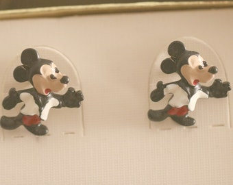 Vintage Mickey Mouse, Mickey Mouse Cufflinks, Vintage Walt Disney, Mouse Cufflinks, Father's Day Birthday Anniversary Mens gift