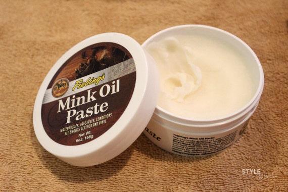 Fiebing S Mink Oil Paste Waterproofing Protect Seal