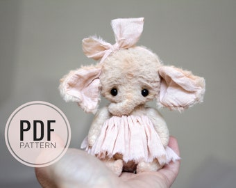PDF Sewing Pattern & Elephant Pinky Tutorial
