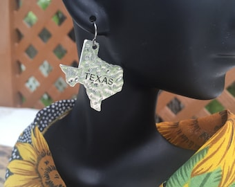 State of Texas Earrings