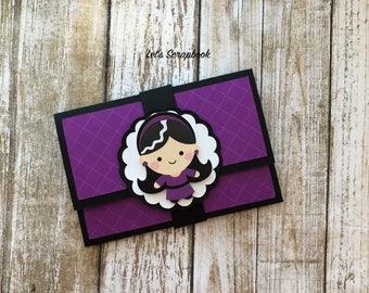 Gift Card Holder, Birthday Gift Card Holder, Halloween Gift Card Holder, Handmade Gift Card Holder, Money Holder, Card Holder, Halloween