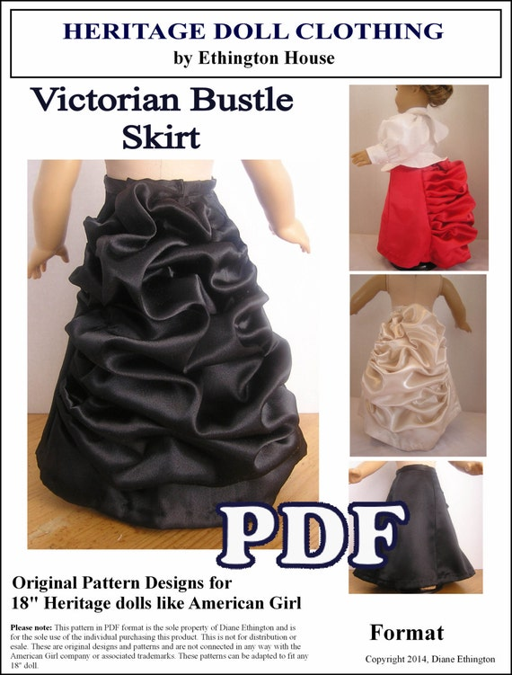 Bustle Skirt Patterns
