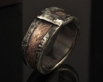 Men's ring, Men's engagement Ring, Men's wedding Band, Men's Wedding Ring, Anniversary ring, promise ring, Men's Gift, RS-1162