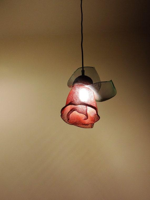 Anhänger Beleuchtung Lampe Kunst Draht-Skulptur-Kunst