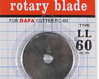 60 mm Rotary Cutter Replacement Blade DAFA RB26
