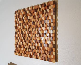 Wood Wall Art, Wood Wall Decor, Wood Wall Sculpture, Wood Wall Art Large, Wood  Wall Panel Art, Wood Wall Hanging, SHIPPING Included!