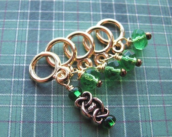 Lucky Celtic Stitch Markers