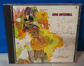 """050118 12 Used Joni Mitchell """"Song To A Seagull"""" CD Reprise 6293-2"""