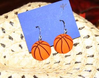 basketball earrings sports earrings brockus creations