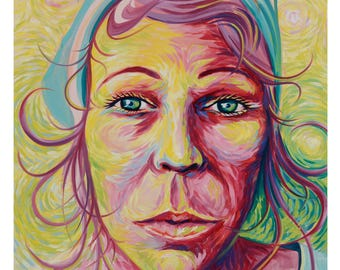 Maggie Original Oil Painting