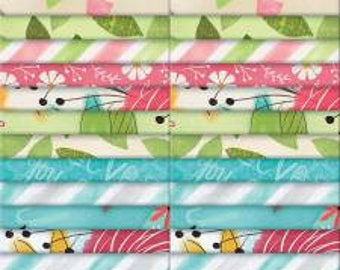 Believe You Can 2 1/2 Inch Strips Jelly Roll, 40 Pieces, Katie Doucette, Wilmington Prints, Precut Fabric, Quilt Fabric, Cotton Fabric