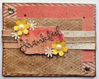 Handmade Cards  - Thanksgiving - One of a Kind