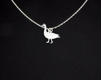 Goose Necklace - Goose Jewelry - Goose Gift