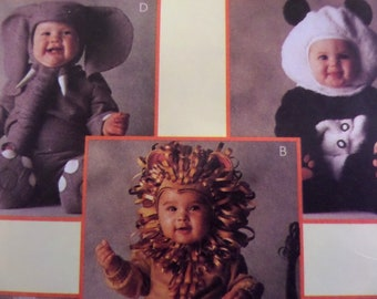 PANDA COSTUME Pattern • McCalls 8938 • Toddler 4 • Lion Costume • Elephant Suit • Sewing Patterns • Childrens Costumes • WhiletheCatNaps