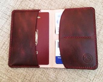 Passport wallet, Passport cover, Leather Passport holder, Passport case
