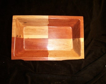 Bowl, Rectangle Segmented Bowl