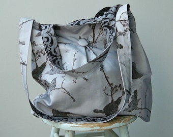 Grey Market Bag Extra Large, Reversible, Road Trip Bag