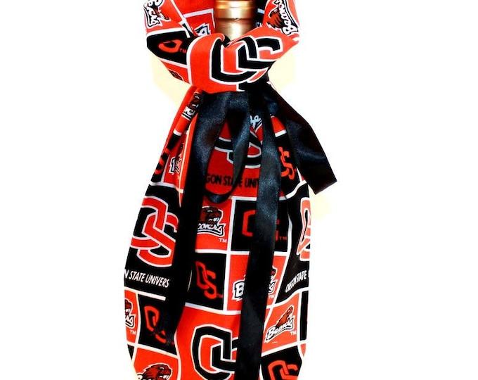 WINE GIFT BAG ~ Oregon State University ~ Sack ~ Tote ~ Bell Art Designs WB37