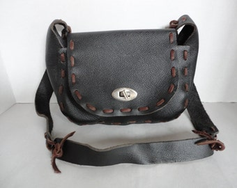 Vintage Boho Leather Purse