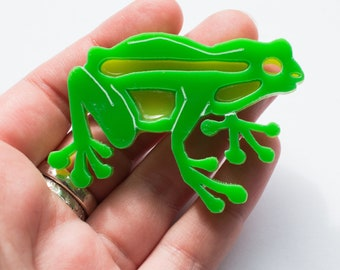 Frankie Frog Brooch