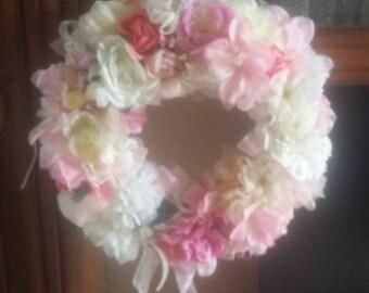 Flower garland x birth or decoration